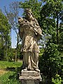 Figurenbildstock hl. Johannes Nepomuk westlich von Meires.jpg