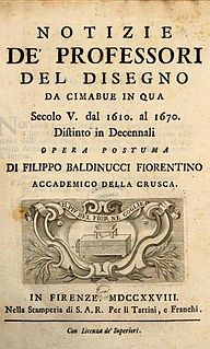 Artists in biographies by Filippo Baldinucci book by Filippo Baldinucci