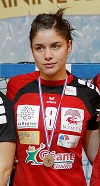 Finale de la coupe de ligue féminine de handball 2013 157 - cropped.jpg
