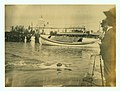 Finish, one half mile swim at the 1904 Olympic Championship, E. Rausche of Germany, winning.jpg