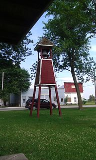 Macksburg, Iowa City in Iowa, United States