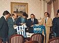 Firma del contrato de patrocinio de la Real Sociedad de Fútbol por parte de la empresa Niessen en Oiartzun (Gipuzkoa)-2.jpg