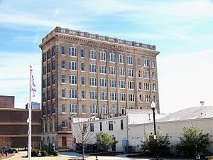 First National Bank Building (Gastonia, North Carolina) - Image: First National Bank or Lawyers Building