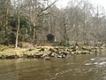 Fishermen's hut on the River Eden - geograph.org.uk - 1767089.jpg