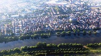 Flörsheim am Main - Aerial view