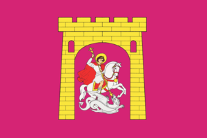 Georgiyevsk - Image: Flag of Georgievsk (Stavropol kray)