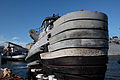 Fleet Tug Opelika (YTB-798) - Bow close-up.jpg