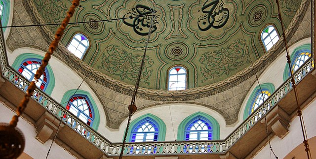 Central Dome of Umayyad Mosque, Damascus, Syria. Image: Jan Smith, Flickr