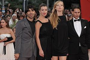 Left to right: Fatih Akin, Anna Bederke, Pheli...