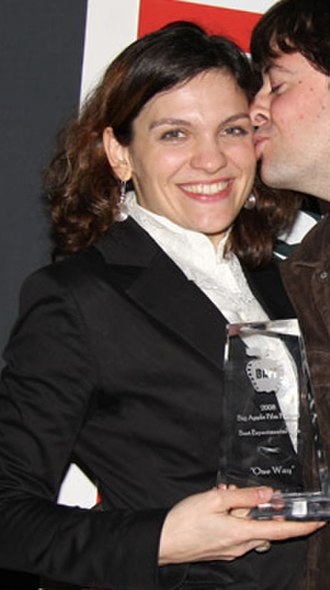 Flo Ankah -  Winning Best experimental film at the Big Apple Film Festival, 2008