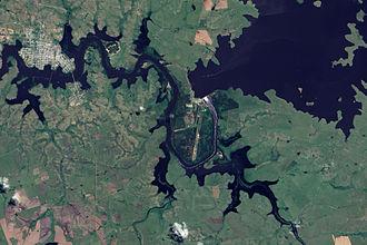 Río Negro (Uruguay) - Flooding along the river