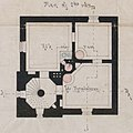 Floor plan of the Märket lighthouse, second floor.jpg
