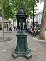 Fontaine Wallace Place Abbesses Paris 1.jpg