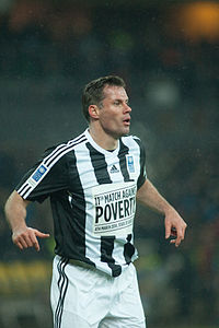 Football against poverty 2014 - Jamie Carragher.jpg
