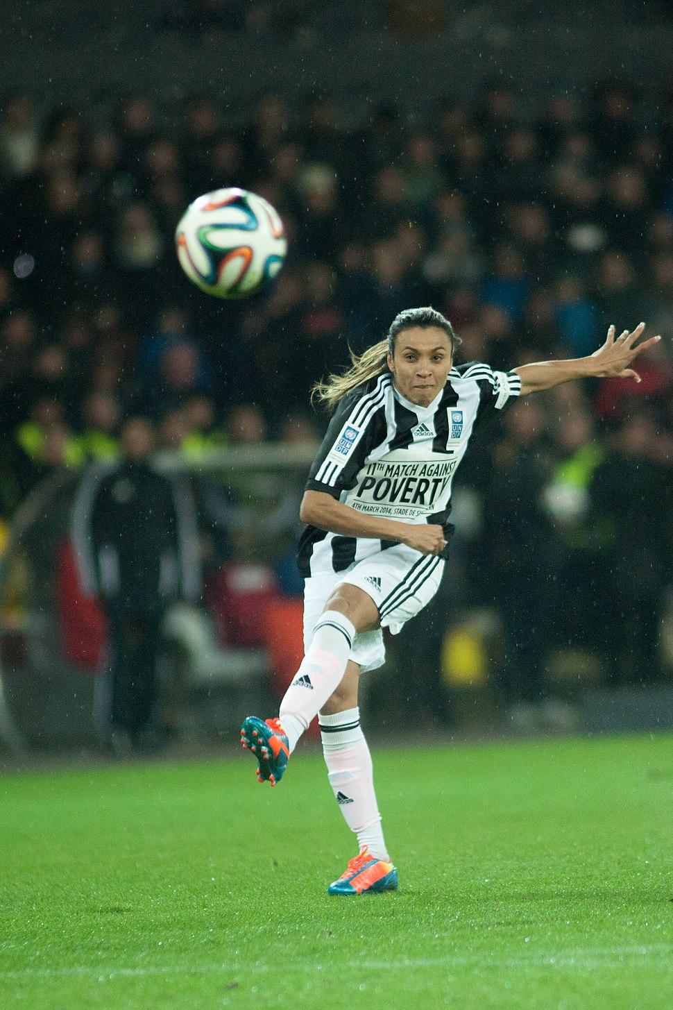 Football against poverty 2014 - Marta