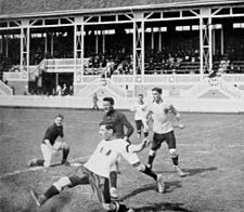 Football at the 1912 Summer Olympics - Austria v.s. Germany.JPG
