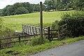 Footbridge and footpath to Abbeystead, Lower Lee - geograph.org.uk - 1409434.jpg