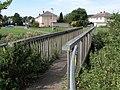Footbridge over Hazel Brook - geograph.org.uk - 239176.jpg