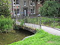 Footbridge over Hobson's Conduit, Cambridge, England - IMG 0712.JPG