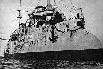 French cruiser D'Entrecasteaux - Former cruiser ORP Bałtyk