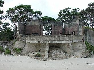 Fort Cowan Cowan - Gun emplacement, Fort Cowan Cowan