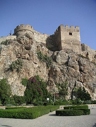 Castle in Salobreña