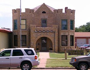 Russell, Kansas - The Fossil Station Museum (2011)