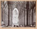 Fotografi av interiör från katedralen i Milano - Hallwylska museet - 103022.tif