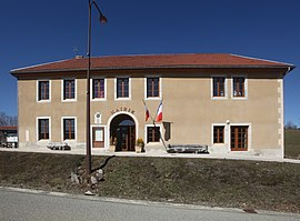 The town hall in Fourcatier-et-Maison-Neuve