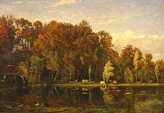 Théodore Fourmois painter, printmaker