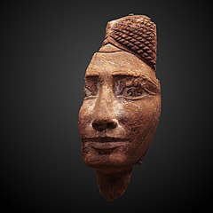 Fragmentary head of a woman-1986.162