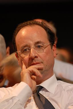 François Hollande - Royal & Zapatero's meeting in Toulouse for the 2007 French presidential election 0550 2007-04-19