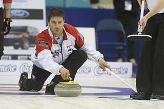 Thomas Dufour French curler