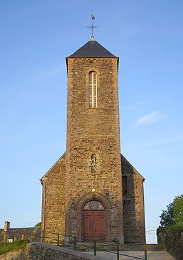 Kerk in Le Mesnil-Villement