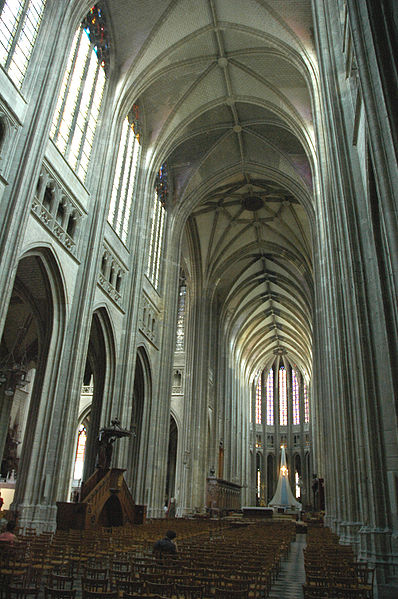 File france orleans cathedrale interieur 01 jpg for France interieur