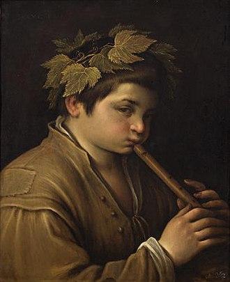 Jan van Troyen - Image: Francesco Bassano Boy with Flute GG 8
