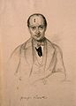 Francesco Puccinotti. Pencil drawing by C. E. Liverati, 1841 Wellcome V0004808.jpg