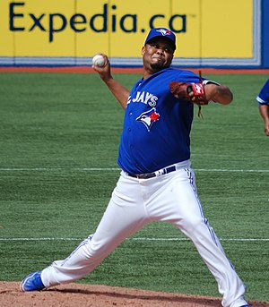 Francisco Cordero - Cordero with the Toronto Blue Jays