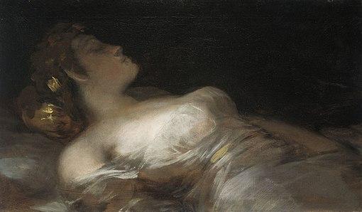 Francisco de Goya - El Sueño (ca.1800)