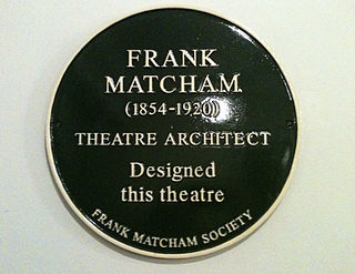 Theatres designed by Frank Matcham