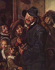 Rommelpot player (Art Institute of Chicago)