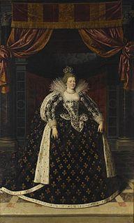 Marie de Medici Queen consort of France and Navarre