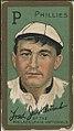 Fred Jacklitsch, Philadelphia Phillies, baseball card portrait LCCN2008677392.jpg