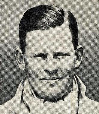 Freddie Brown (cricketer) - Image: Freddie Brown Cigarette Card