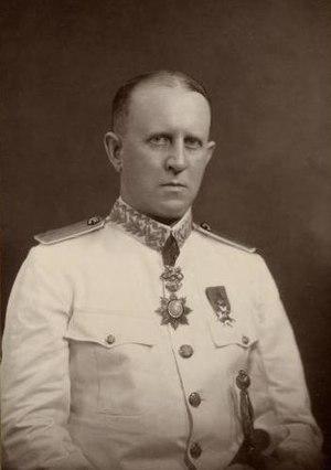 Fredrik Adelborg - Adelborg as Consul General in Singapore in 1929.