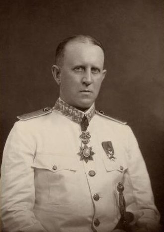 Fredrik Adelborg - Adelborg as Consul General in Singapore in 1929.