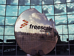 Freescale Semiconductor Logo.