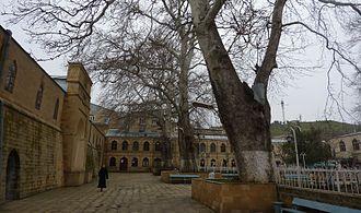 Maslama ibn Abd al-Malik - The Friday Mosque of Derbent (Bab al-Abwab), dating to the city's refoundation by Maslama