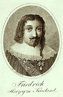 Friedrich Kettler aristocrat from Latvia