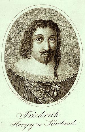 Friedrich Kettler - Image: Fridrihs Ketlers